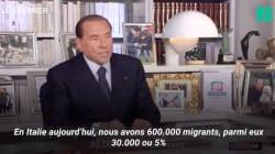 Plus discret Berlusconi? Pas tout à