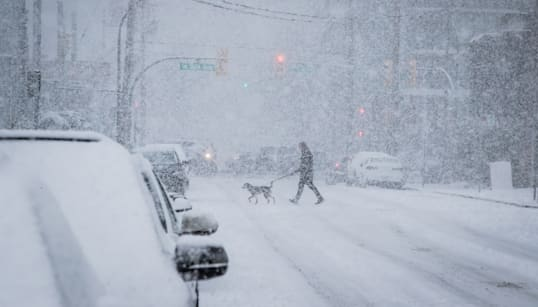 ▶Vancouver Is Doing Its Best To Deal With Snow, So Back