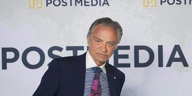 Postmedia CEO Paul Godfrey is pictured on Jan. 12, 2017 in Toronto.