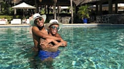 Somizi And Mohale In Mauritius; Moshe in Mozambique: SERIOUS Vacation