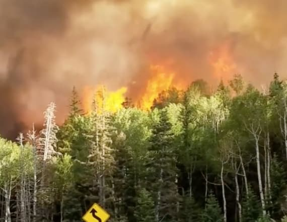 Brian Head fire in Utah grows to almost 28,000 acres