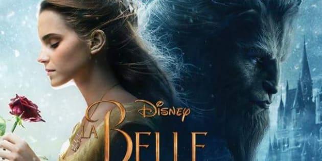 """L'affiche du film """"La Belle et la Bête""""."""