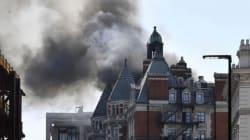 Se incendia lujoso hotel en