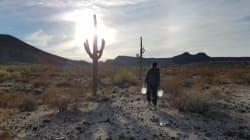 Dejaron agua para migrantes en el desierto. Ahora irán a la