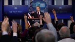 Plusieurs grands médias refoulés du point presse quotidien à la Maison