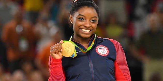 Simone Biles ganhou 10 medalhas de ouro em Mundiais e 4 na Rio 2016