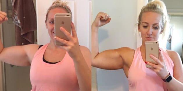 Cette maman n'a perdu que 500 grammes mais son corps est entièrement transformé