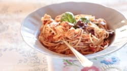 Quick And Easy Spaghetti With Tuna And