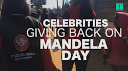Celebrities Went To The Streets To Give Back To The Less Fortunate On Mandela