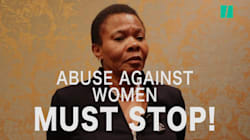 We Asked Susan Shabangu What Government Was Doing To Fight Women Abuse, She Said 'Check
