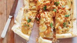 Baby Potato And Haddock Tart Makes A Tasty Light Summer