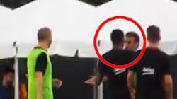 En plein entraînement, Neymar se bat avec un coéquipier du