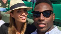 Ariane Brodier et son rugbyman en amoureux à