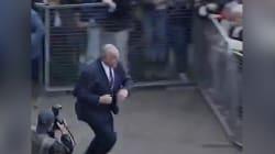 Quand Helmut Kohl était victime d'un lancer d'œufs, les responsables passaient un sale quart