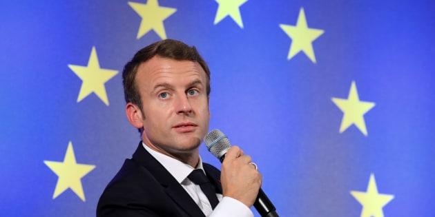 """L'UE trouve un accord sur le travail détaché, Macron salue """"une victoire pour l'Europe"""""""