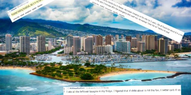 Alerte missile à Hawaï: Qu'avez-vous fait en recevant l'alerte? Les drôles de réponses de certains Hawaïens