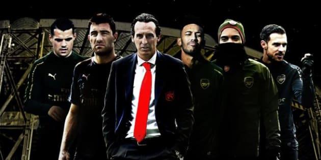 L'Arsenal festeggia la vittoria contro il Napoli evocando Gomorra