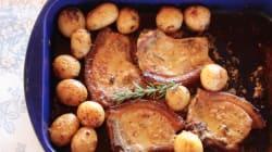Try ThisHoney, Mustard And Rosemary Pork