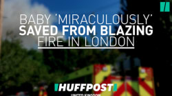 Baby 'Miraculously' Saved From Blazing Fire In