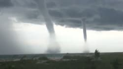 Un impressionnant (et rare) phénomène météo filmé au large de la