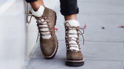 Les chaussures de randonnée sont dans les starting blocks pour remplacer bottines et
