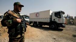 Enfin de l'aide humanitaire dans la Ghouta
