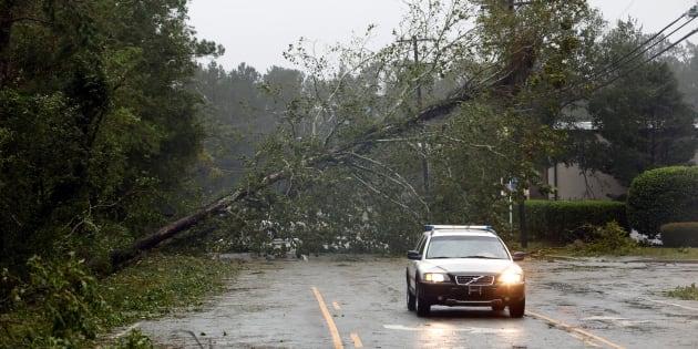 L'ouragan Florence fait ses premières victimes en Caroline du Nord