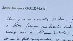 La lettre émouvante de Goldman au président du Refuge sur le combat des jeunes