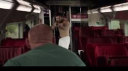 Les premières images de la performance des héros du Thalys dans le film