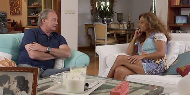 Lolita, durante su entrevista en 'En la tuya o en la mía' de TVE.