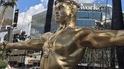 Praise Yeezus! Kanye West Jesus Statue Rises In