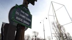 Les fontaines des Champs-Élysées inaugurées malgré la