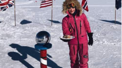 16歳女子高生、南極点から「サンドイッチ」で反撃 ユーモアで差別に対抗、世界から賞賛