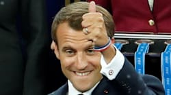 Macron protagoniza la FOTAZA del Mundial de