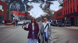 Les stars vont à Aspen pour faire du ski (ou se