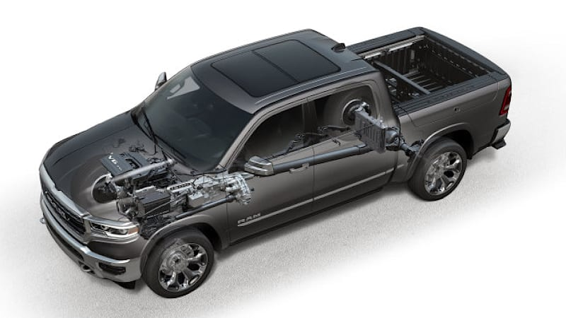 2019 Ram 1500 Etorque Pickup V6 And V8 Fuel Mileage Revealed Autoblog