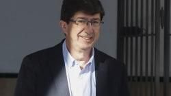"""Juan Marín: """"Con Podemos no voy ni a coger billetes de 500"""