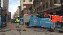 Chantiers à Montréal: 25 M$ pour dédommager les