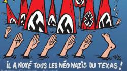 La copertina di Charlie Hebdo sull'uragano Harvey fa indignare gli