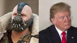 Vous ne rêvez pas, Trump a bien prononcé la même phrase que Bane, le méchant dans
