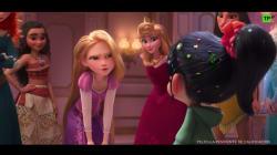 Disney se ríe de sus princesas en el tráiler de 'Rompe Ralph