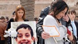 La preciosa carta leída por la familia del niño Gabriel antes de esparcir las cenizas de su 'pescaíto' en el