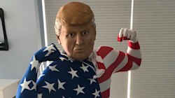 Trump Jr admire tellement son papa qu'il s'est déguisé en lui pour