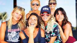 Laeticia Hallyday, Yannick Noah et Alessandra Sublet profitent de leurs vacances à