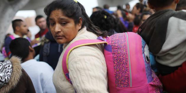 Tijuana fue el destino de la caravana migrante que partió desde El Salvador, para buscar refugio en Estados Unidos.