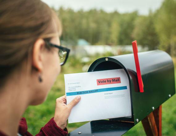 Battleground postal delays persist with mail voting