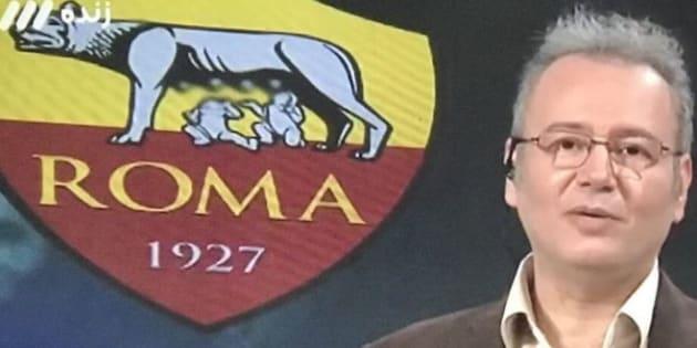 Barcellona-Roma: Tv iraniana copre mammelle Lupa capitolina sullo stemma