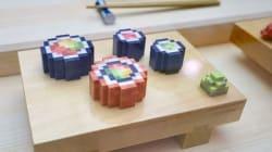 Ces sushi pixélisés sont