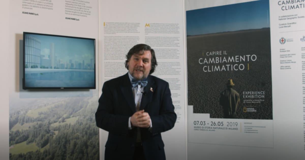 """Luca Mercalli: """"Per affrontare il cambiamento climatico, devono cambiare le nostra abitudini quotidiane"""""""