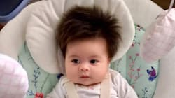 This Two-Month-Old Baby Is Giving Us Serious Hair